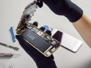 internals of smartphone