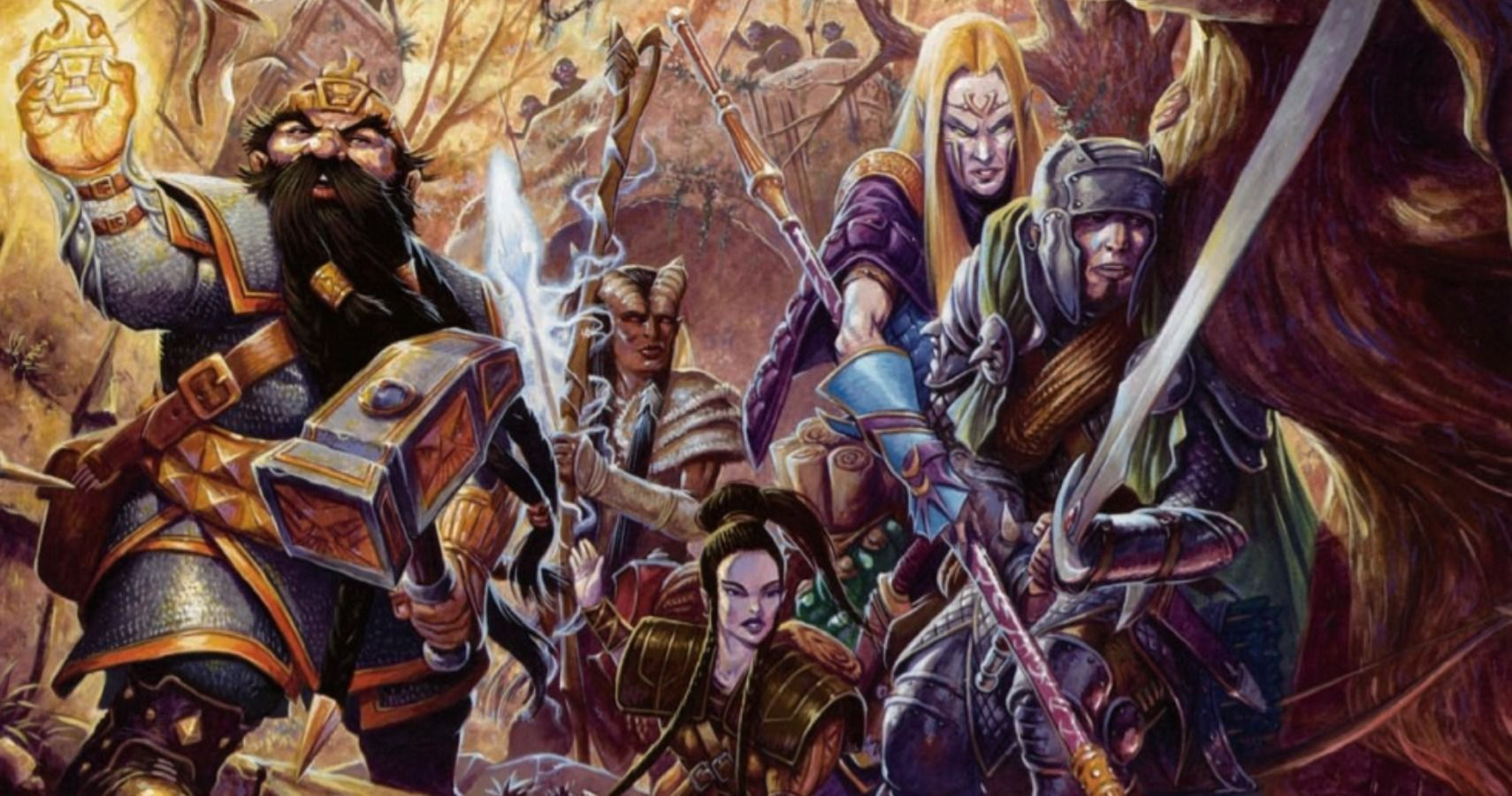 Dungeons and Dragons animated characters